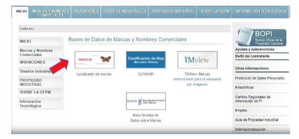 patentes y marcas en Valtecsa